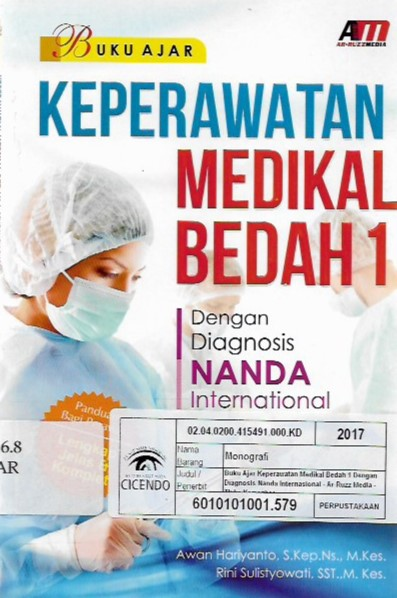 buku ajar keperawatan medikal bedah 1 : dengan diagnosis nanda international